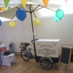 Ice Cream Tricycle at Event